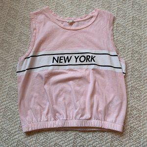 Teens pink tank top